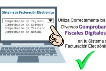 Utiliza Correctamente los Diversos Comprobantes Fiscales Digitales 3.3. en tu Sistema de Facturación Electrónica